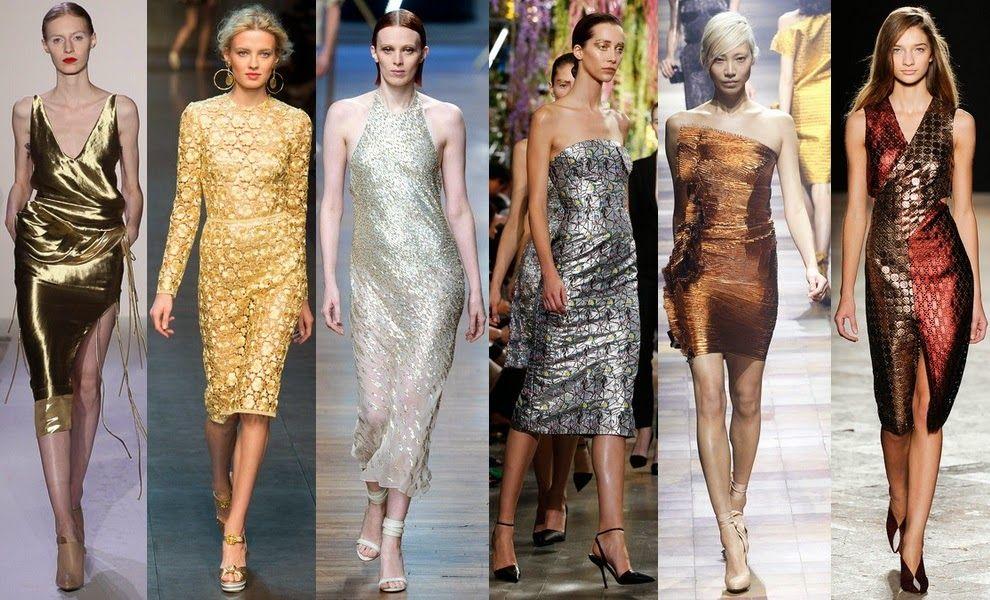сверкающие вечерние платья