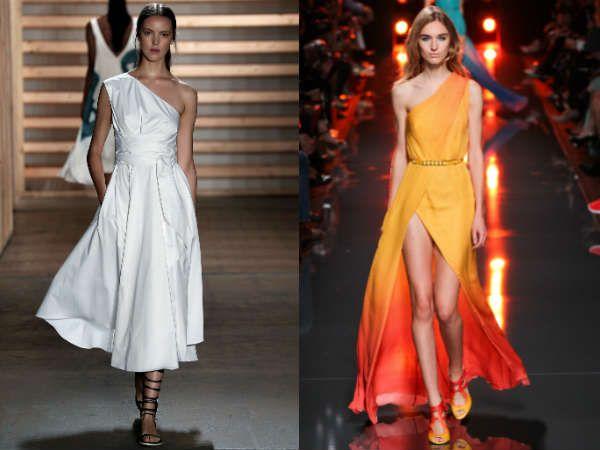 вечерние платья весна и лето 2015