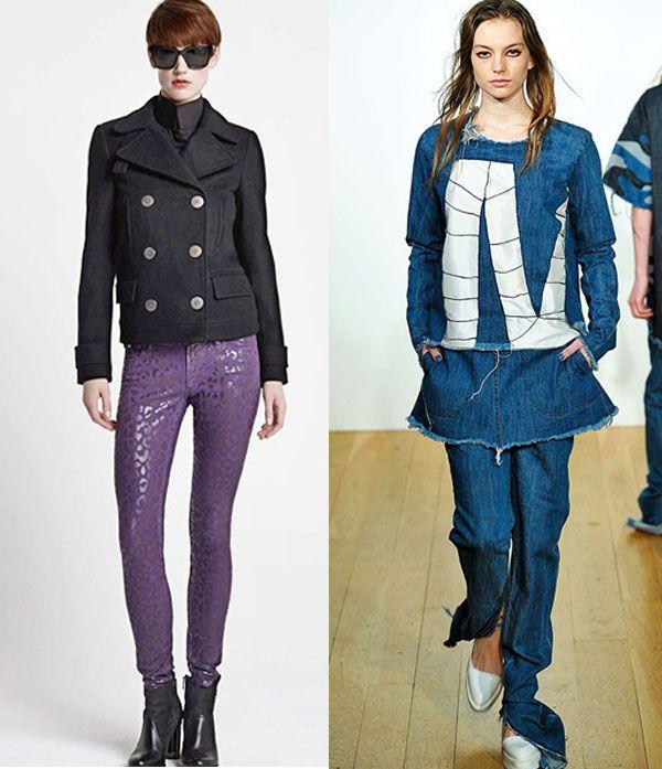 Мода на джинсы нового сезона