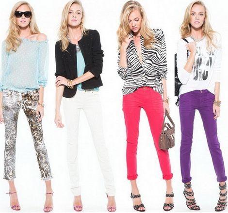 Модно значит ярко цвета джинс