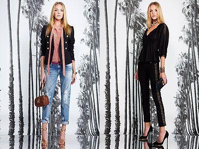 Модные джинсы  с декором