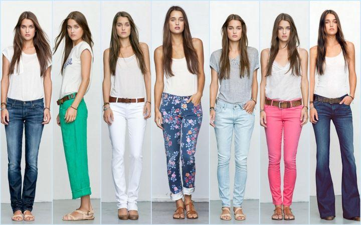 Модные джинсы сезон 2015-2016
