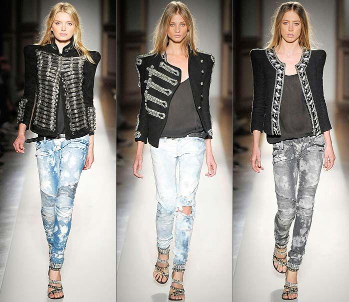 Потертые джинсы модно в новом сезоне