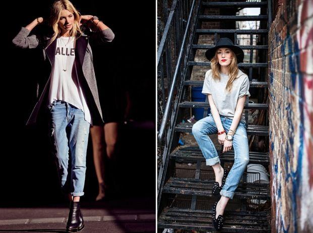 Стильно и модно джинсы в образе