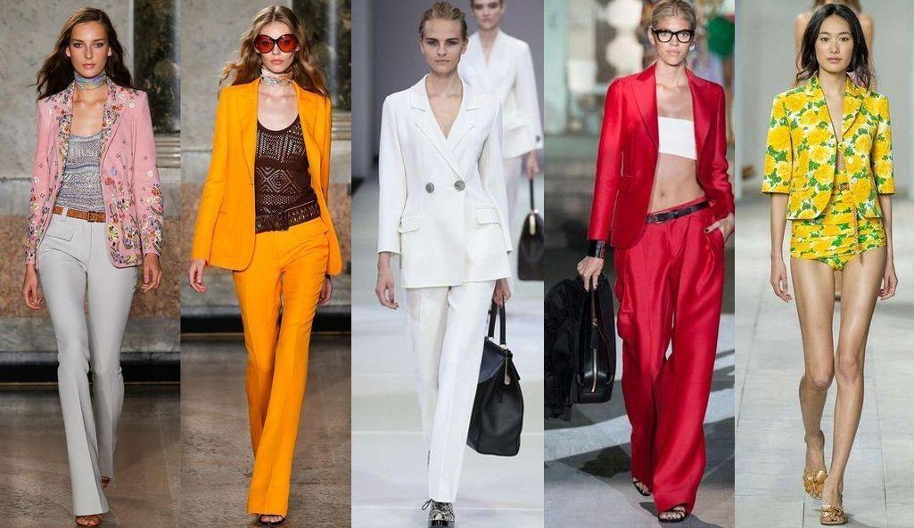 Актуальные цвета сезона в модных пиджаках