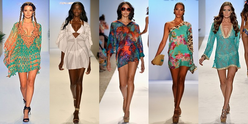 Легкие модные туники для женщин