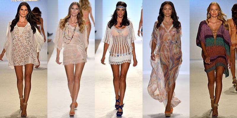 Модные вязаные туники