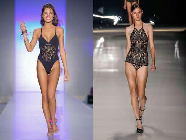 Сдельные купальник мода 2015