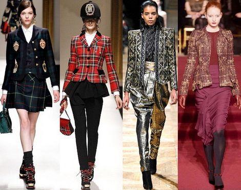 женские пиджаки с декором мода сезона