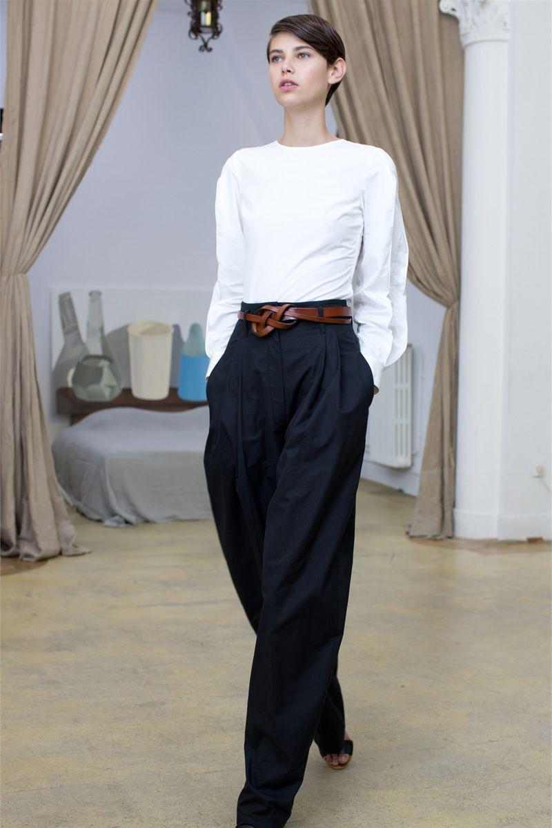 брюки-палаццо Lemaire