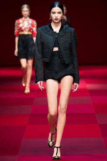 Dolce Gabbana и стильная черная одежда