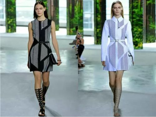 Креативные и стильные платья для офисов