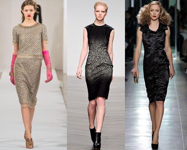 Офисные платья тоже могут быть модными