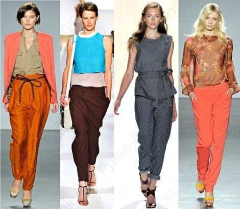 Свободные модные женские брюки