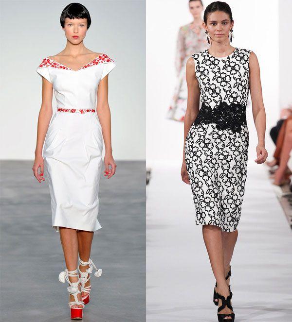 Выбери офисное платье модное сегодня