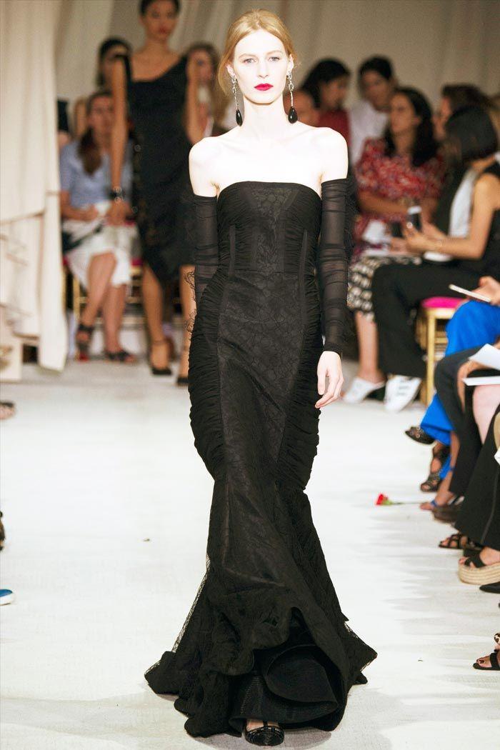 Черное шикарное вечернее платье
