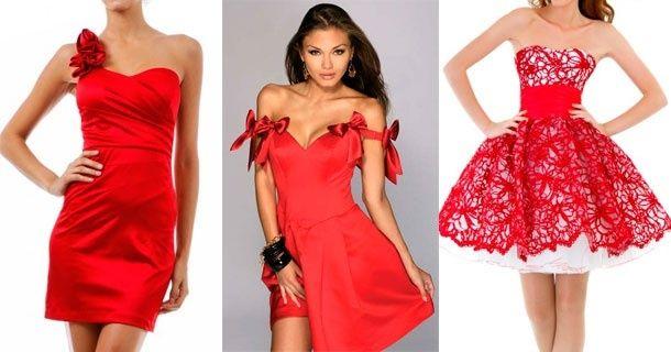 Красные короткие платья для любых вечеринок