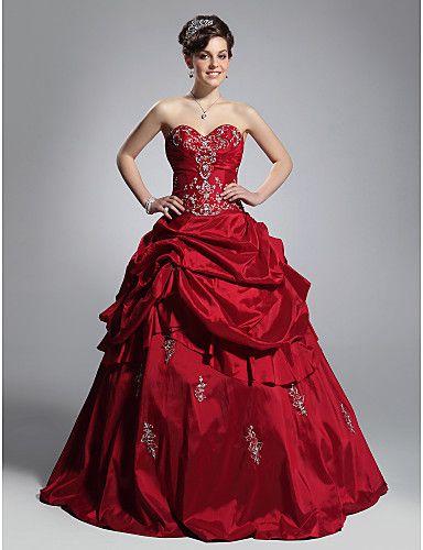 Пышные вечерние платья