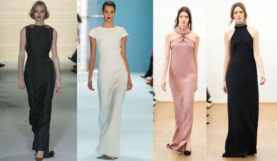 Стильные платья с подиумов мира