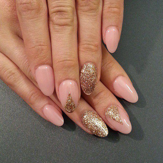 Аккуратный свадебный дизайн ногтей