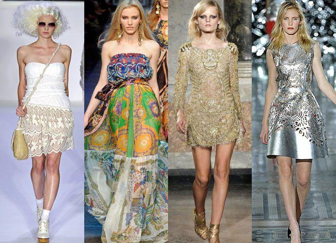 Мода летом и весной 2012 призвана поражать