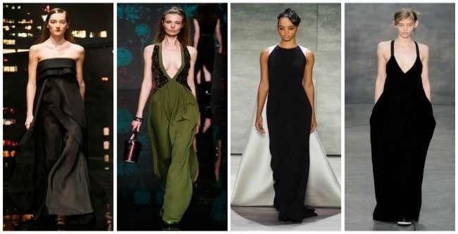Модные вечерние платья 2016: новинки с подиумов