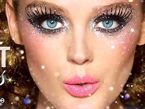 Новогодний макияж для карих глаз и не только