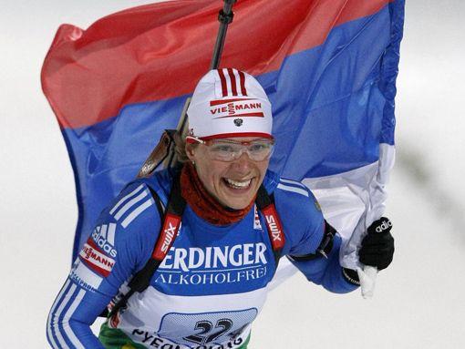 Женский спорт. Зайцева — великая биатлонистка России