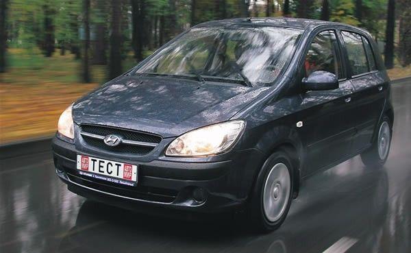 Hyundai Getz бюджетный женский автомобиль
