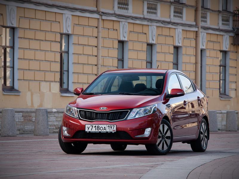 Kia Rio доступное авто для женщин