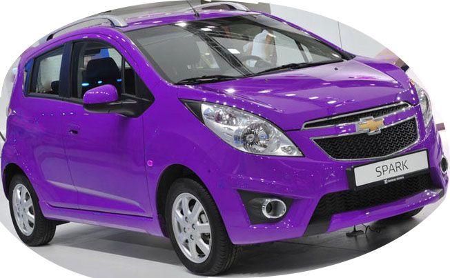 chevrolet-spark авто для аккуратных женщин