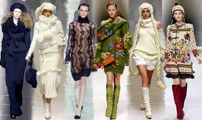 стильная вязаная женская одежда