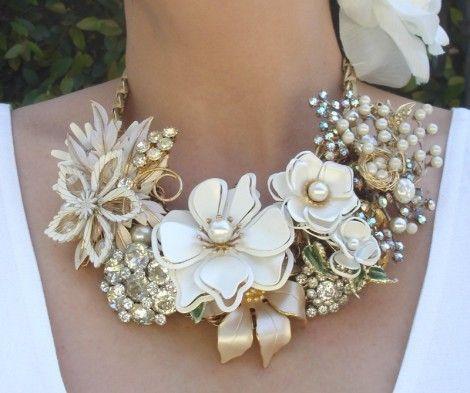 свадебное ожерелье для невесты