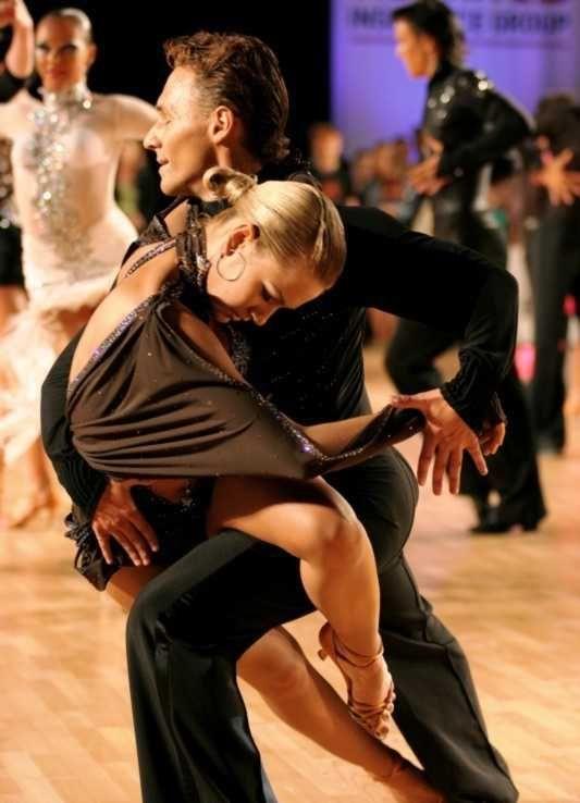 Спортивные танцы это красиво