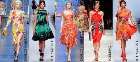 мода летом 2012