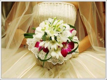 свадебные аксессуары и букет невесты