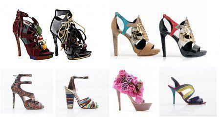 туфли 2012 и их декор
