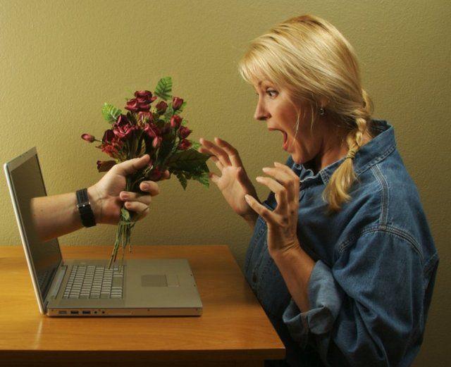 знакомства в интернете - любовь возможна