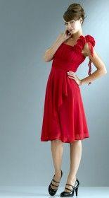 оттенки красного и модные летние платья