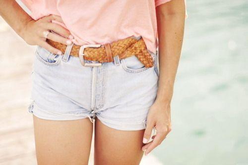 модные джинсовые шорты лето 2012