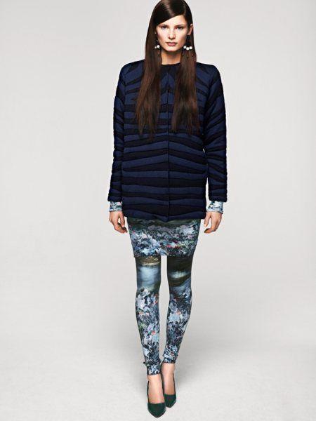 что модно осенью 2012 при многослойном стиле