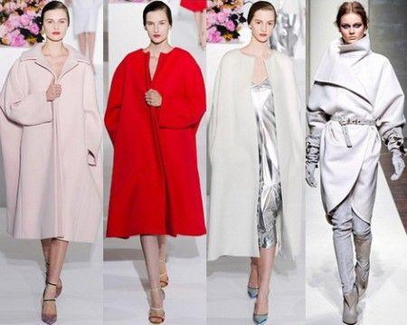 модные фасоны пальто 2012
