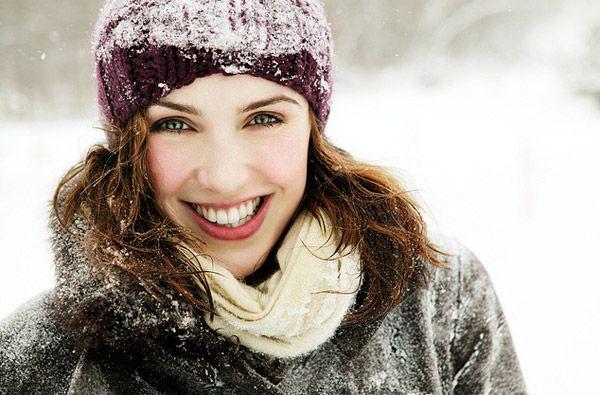 уход за кожей лица зимой, будь красивой всегда