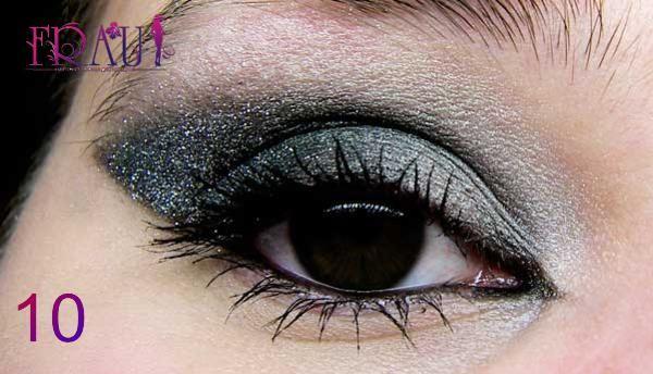 макияж для карих глаз, фото финального результата