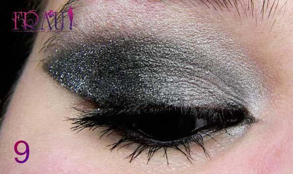 последние усилия для качественного макияжа карих глаз