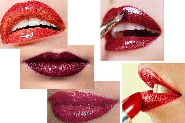 красивые губы на новый год