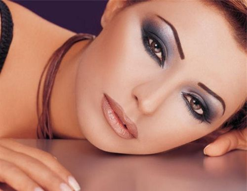 макияж глаз для празднования нового года