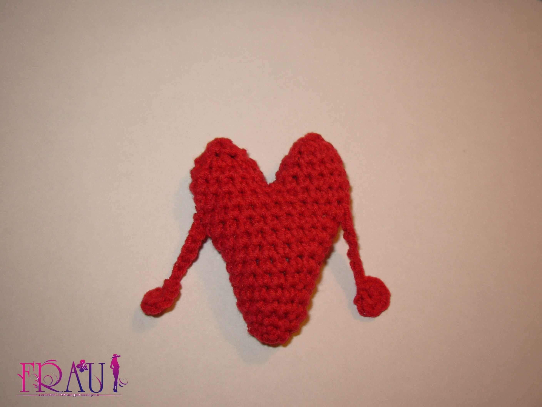 валентинки с ручками в виде сердца