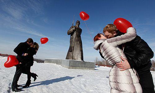 День Святого Валентина найди свою половинку