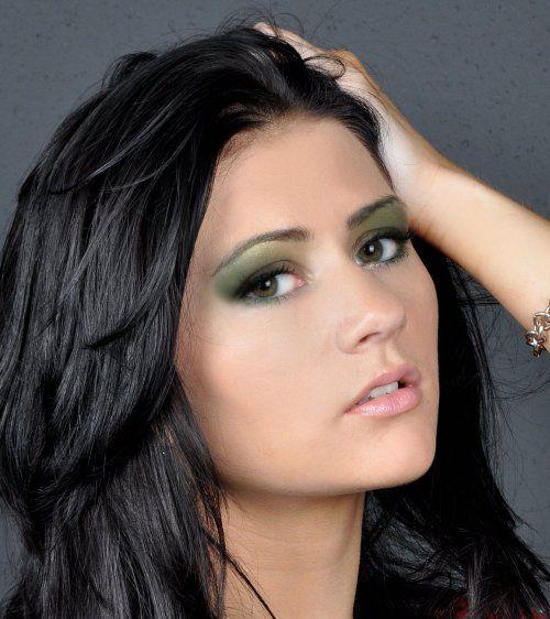 Великолепный макияж для зеленых глаз